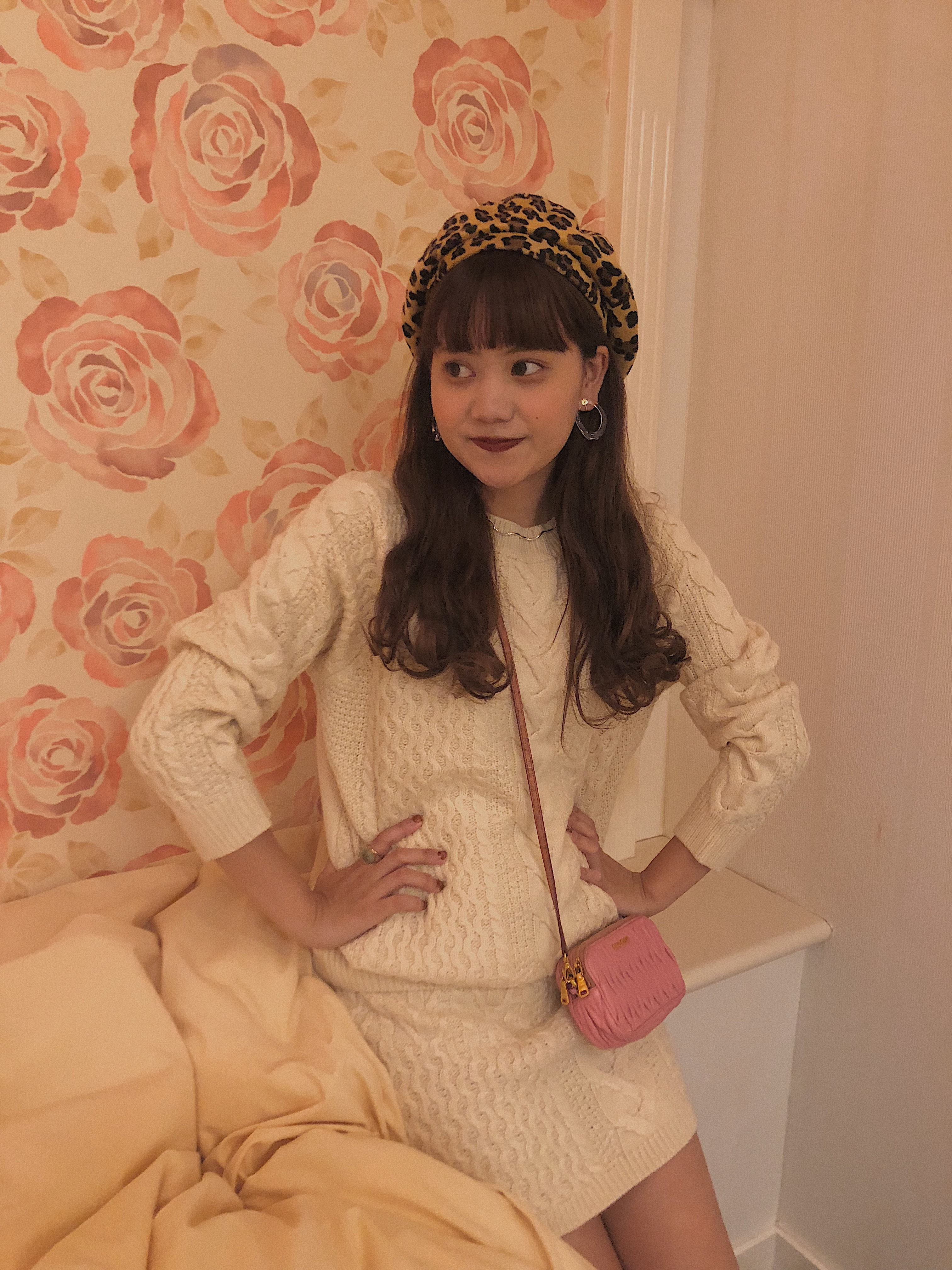 ♡再入荷♡ knit setup (ivory)