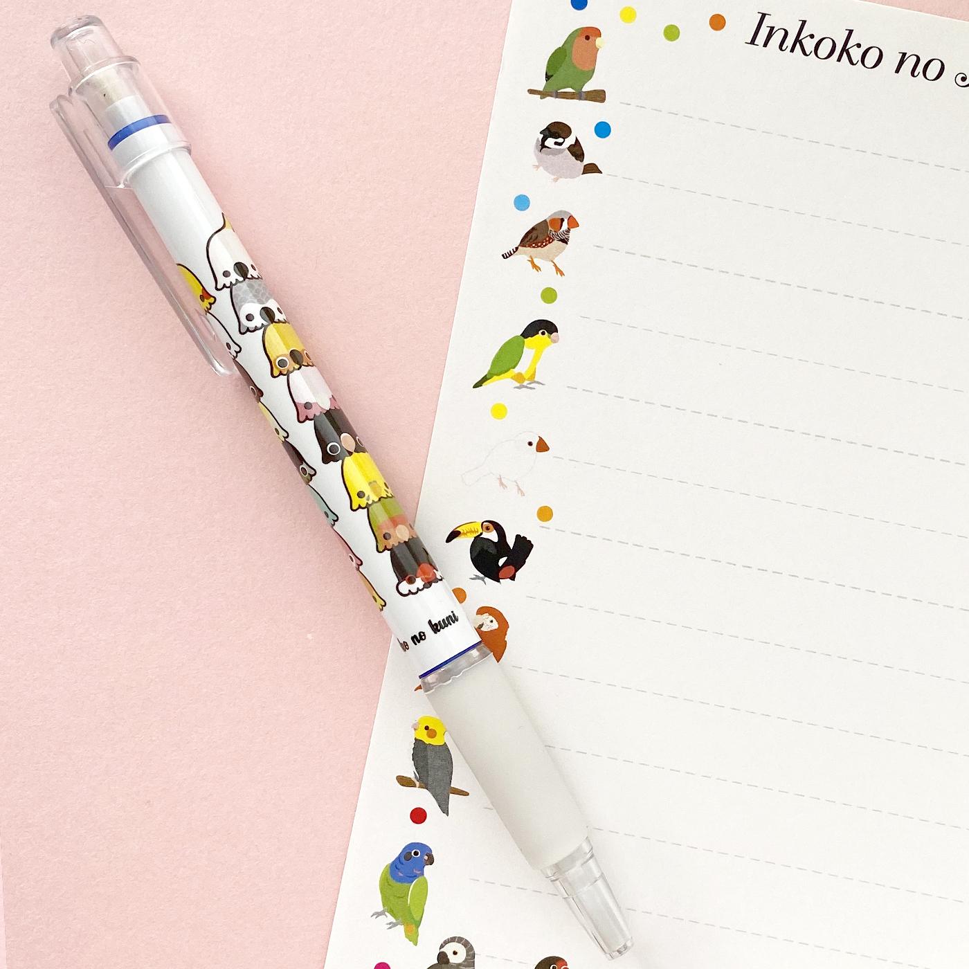 ◆インコ盛りシャープペン♪