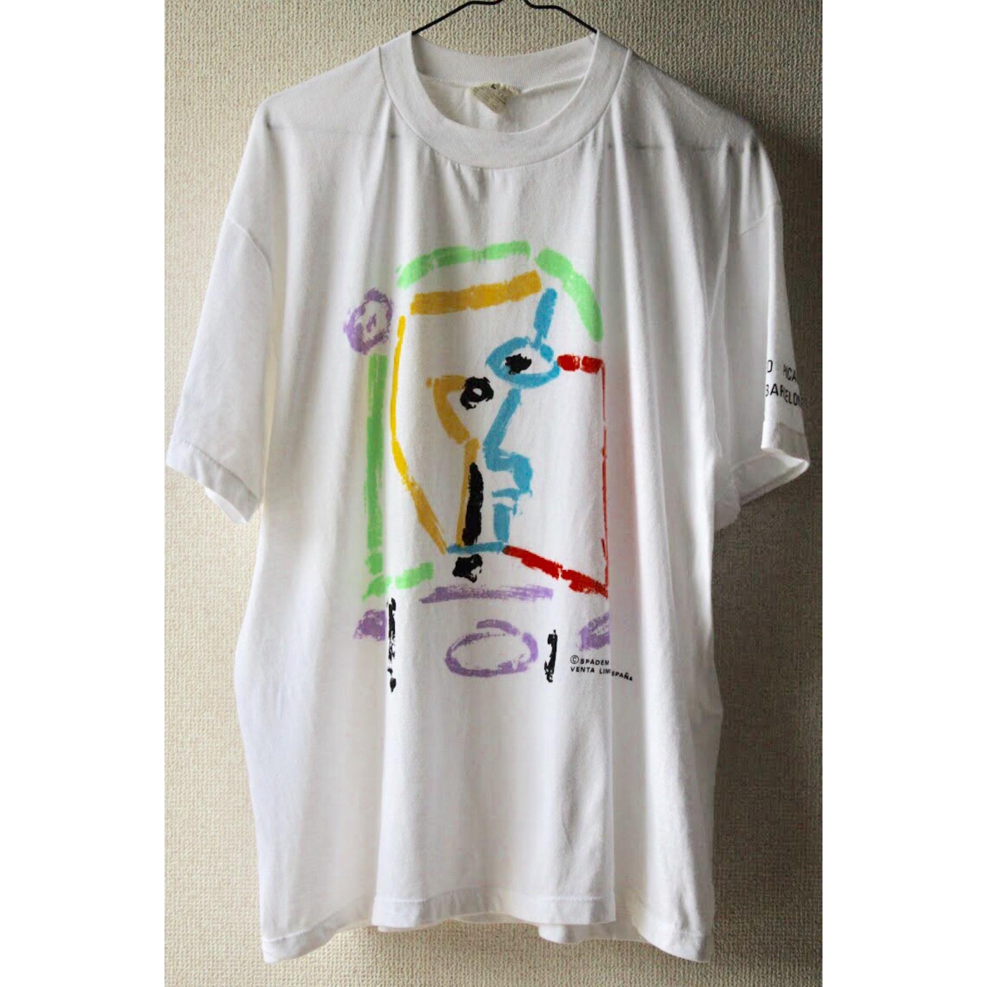 Vintage Pablo Picasso museum t shirt