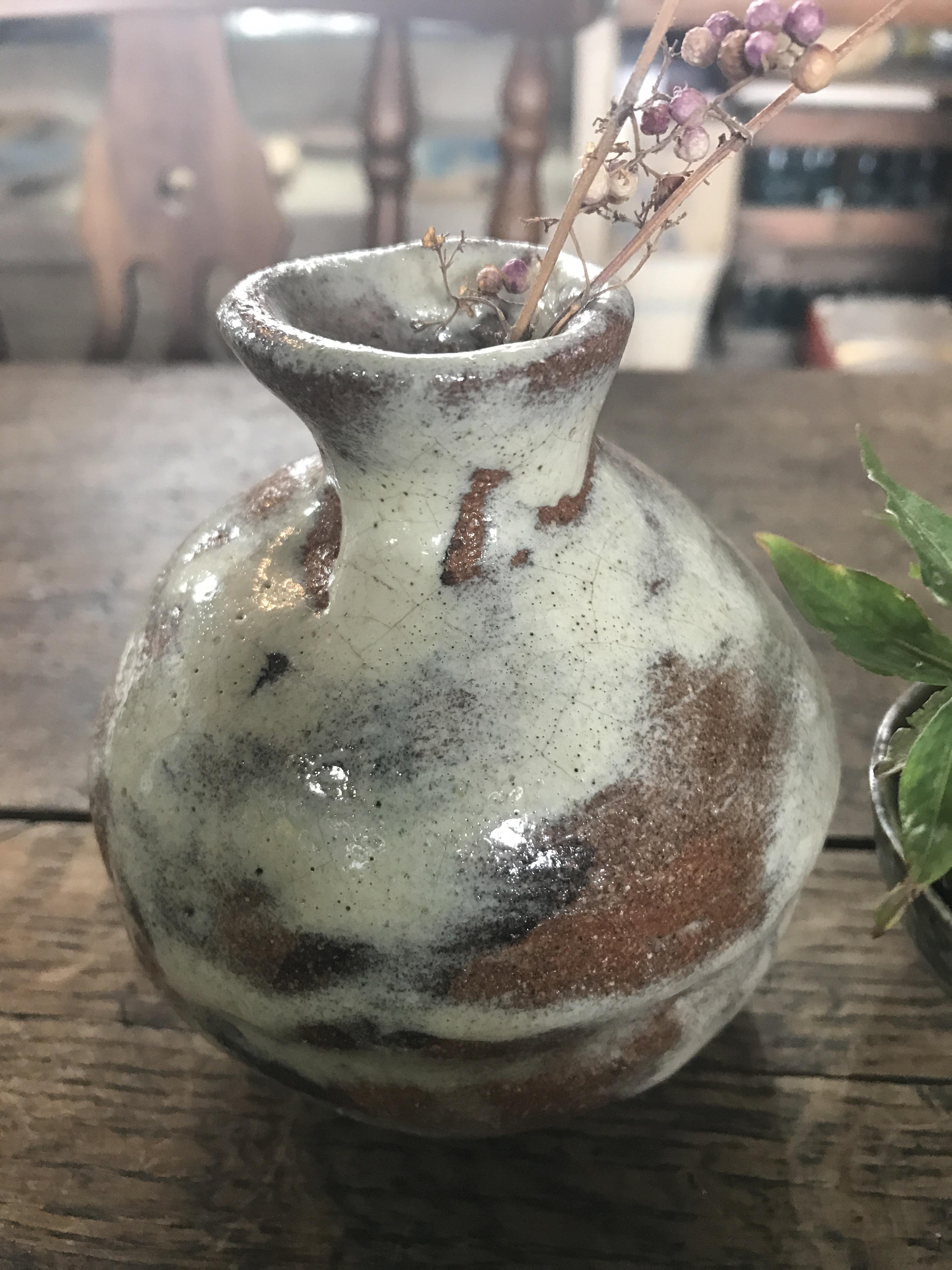 味のある花瓶 ぽってりさん ❹