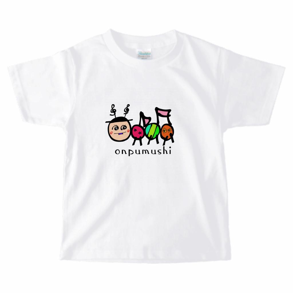 キッズTシャツ:おんぷ♪虫 onpumushi