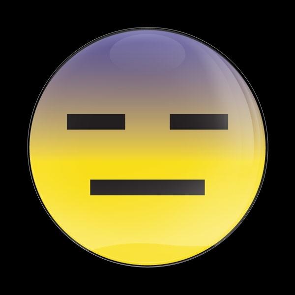 ゴーバッジ(ドーム)(CD1041 - EMOJI EMOTIONLESS) - 画像1