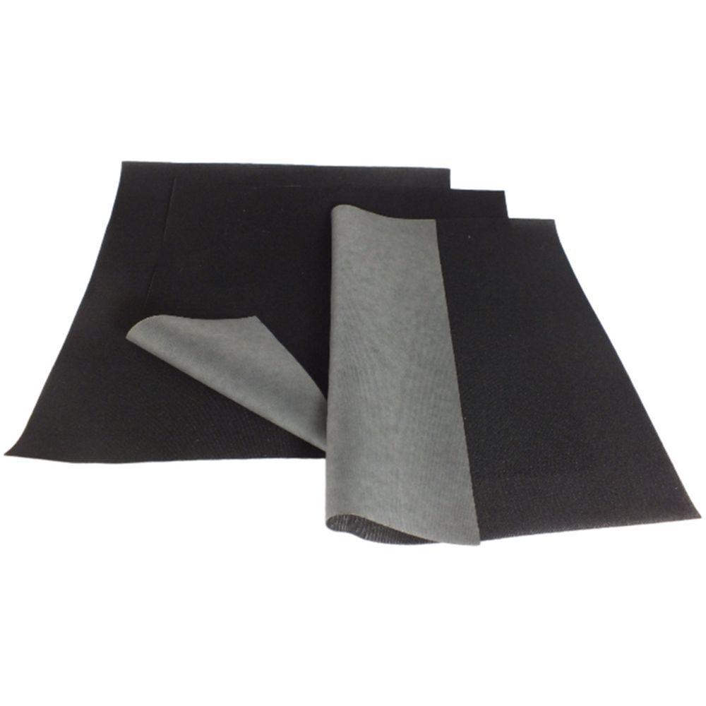 YNAK ウェットスーツ マリンウェア 補修 メンテナンス 用 強力 シームテープ シート型 形 自由カット アイロン式 ジャージ 伸縮性 曲げ伸ばし部分 説明書付き 3枚セット 幅20cm×長さ20cm (ブラック) (ホワイト)