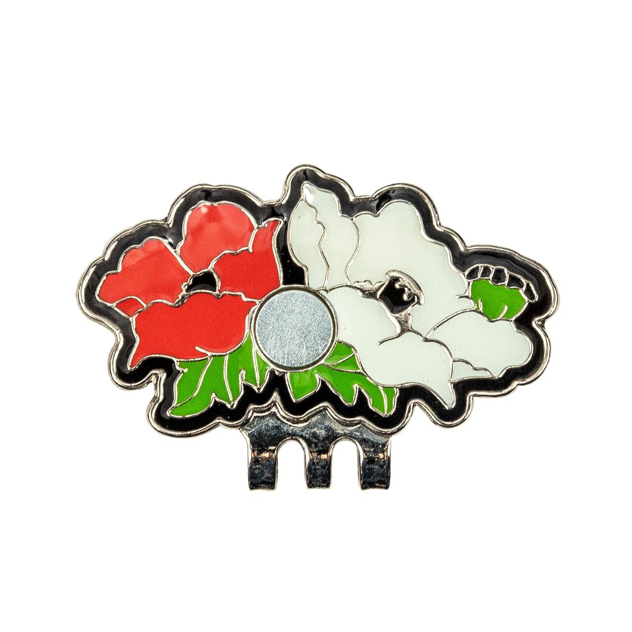 242. Flower Hat Clip