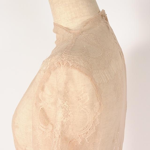 hs19SS-IR01 CLASSIC DRESS - LACE(Msize)