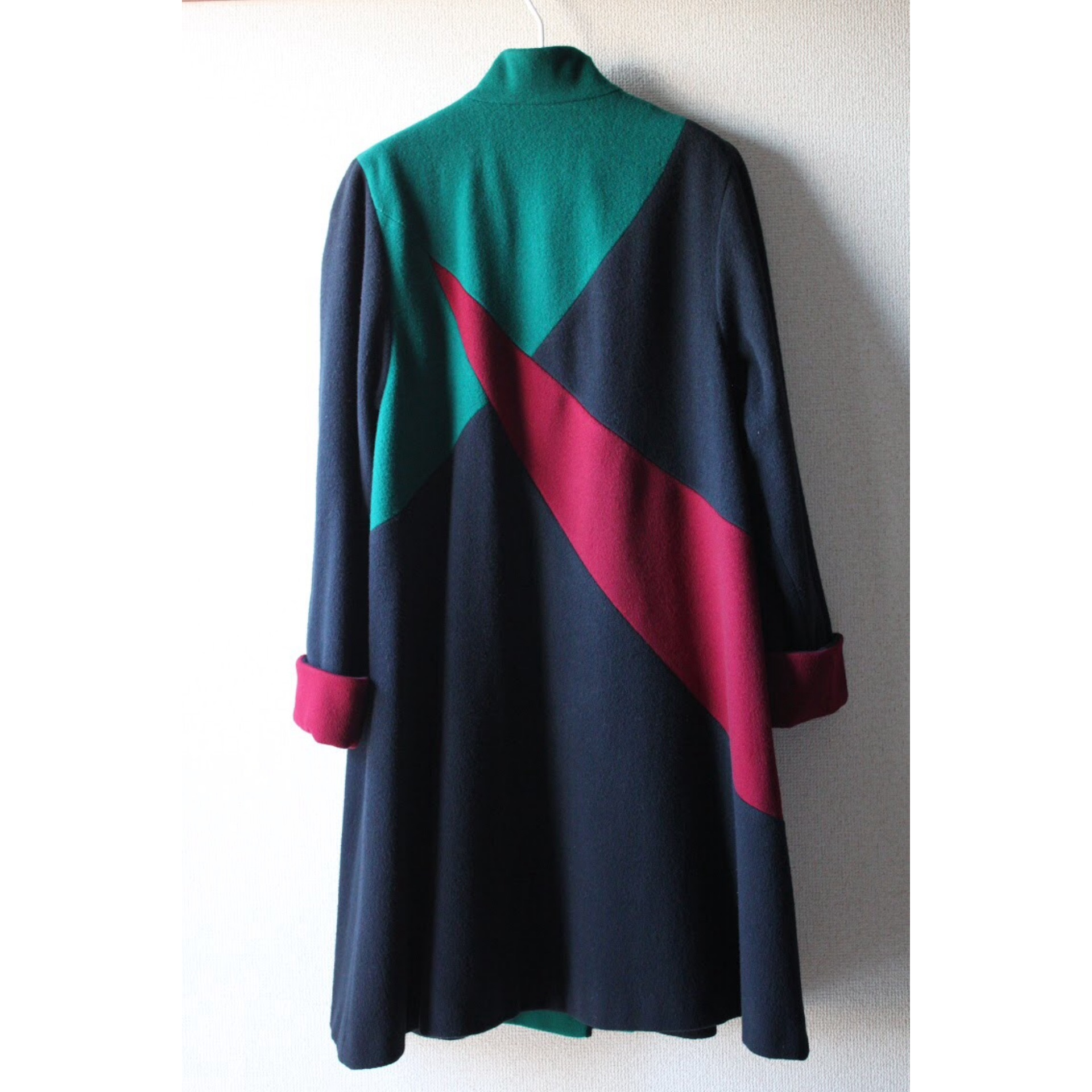 Vintage geometric pattern coat