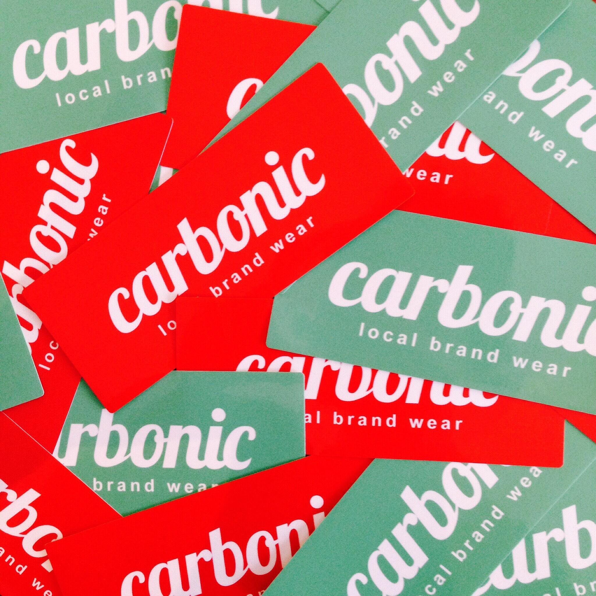 carbonic LOGO sticker