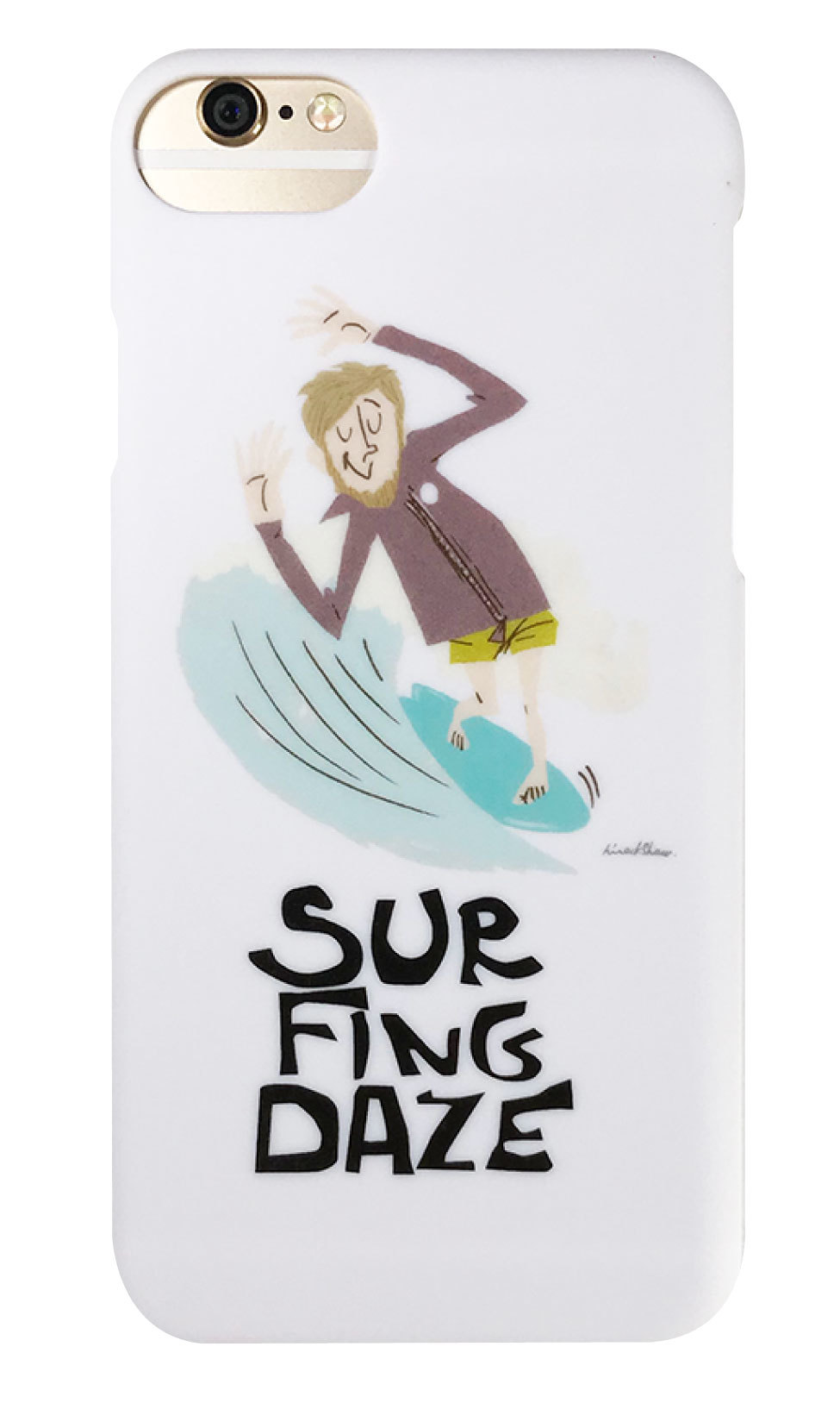 surfingdaze つや消しハードケース