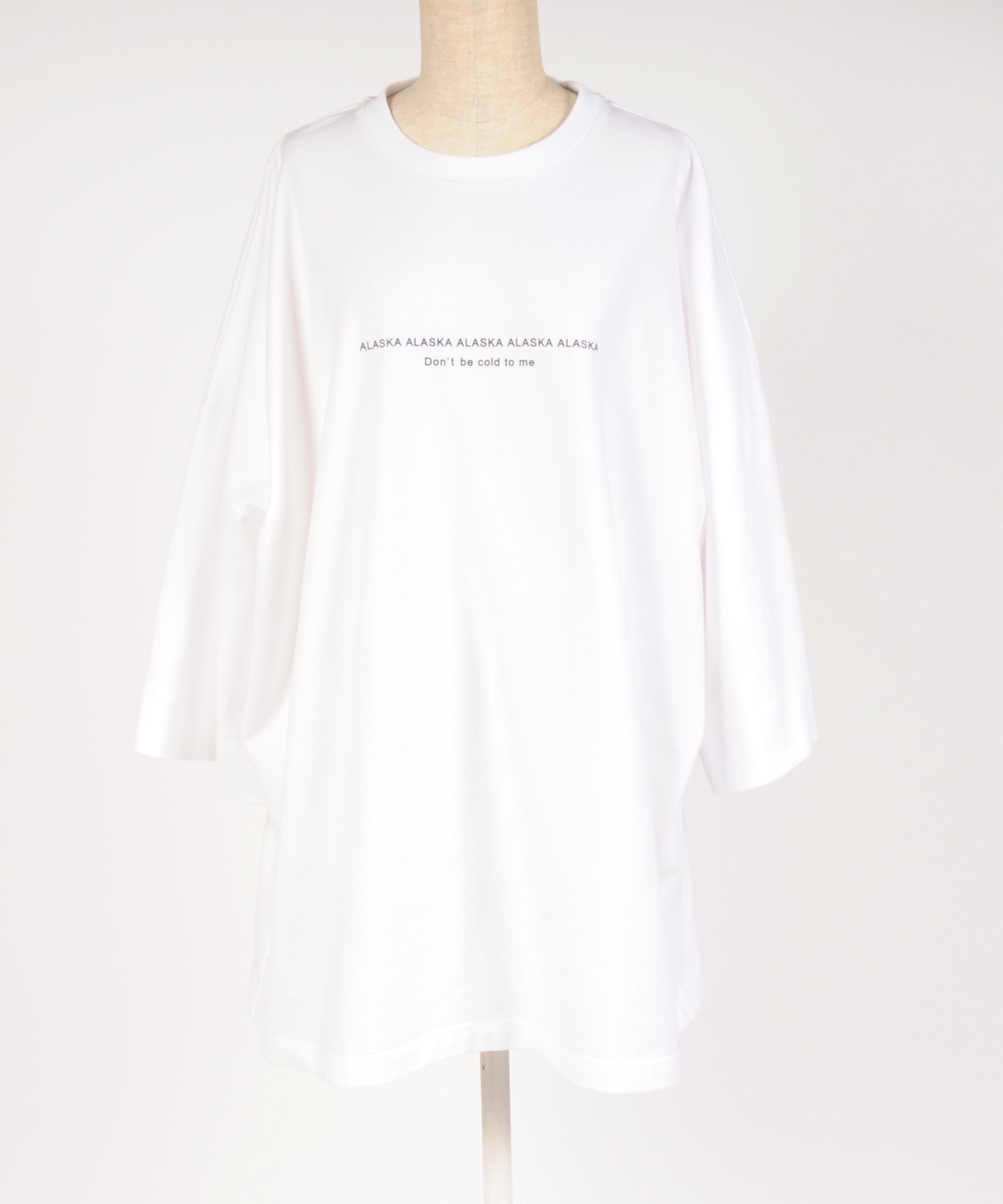 "hs18SM-DE01 CREW NECK T-SHIRT""Don`t"""