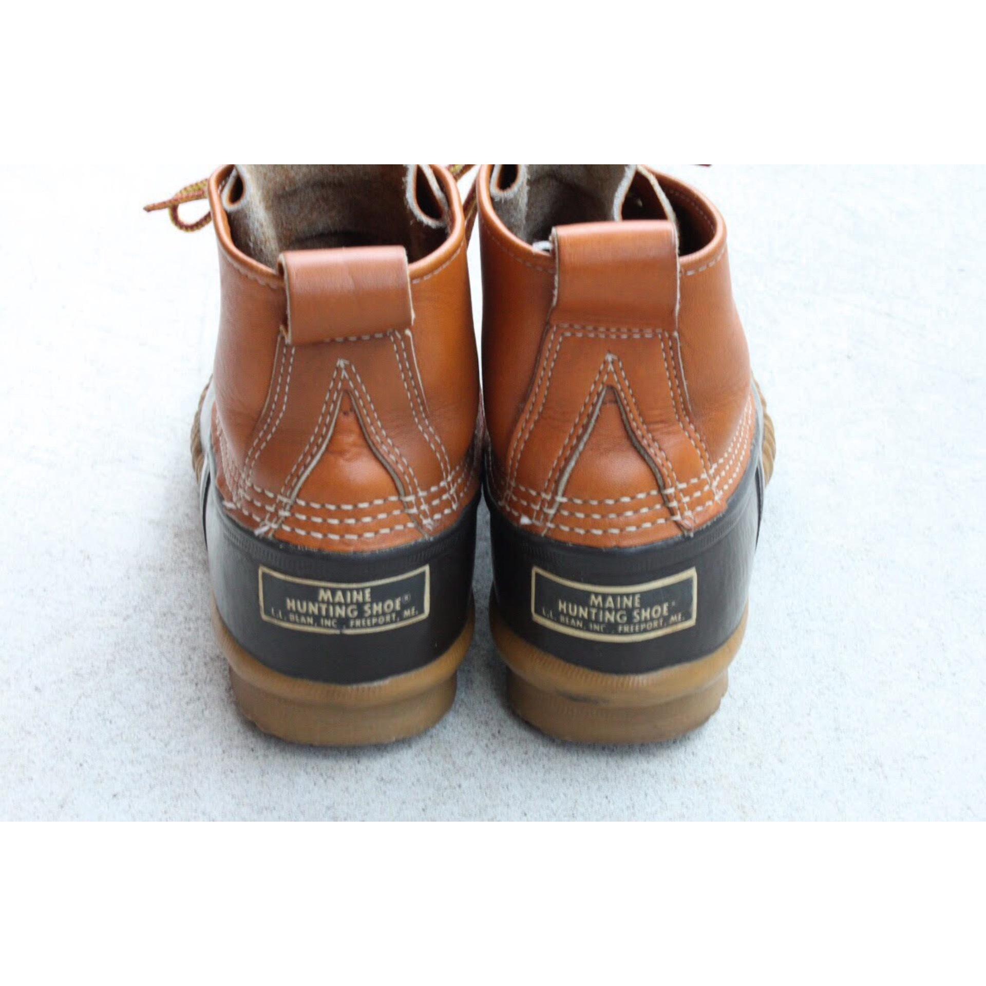 Vintage bean boots size 5 by L.L.Bean