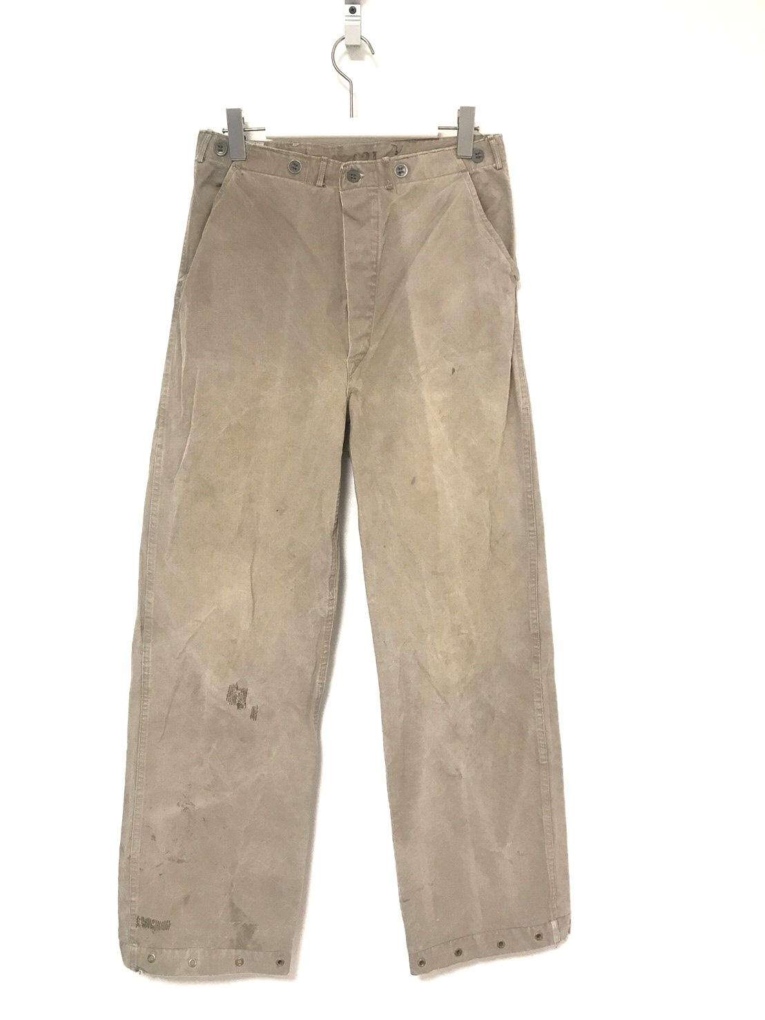 ⑤ 40's Swedish Army M-39 Work Pants