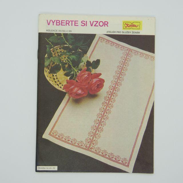 チェコの雑誌「Kveten」vol.99 パターンを選ぶ