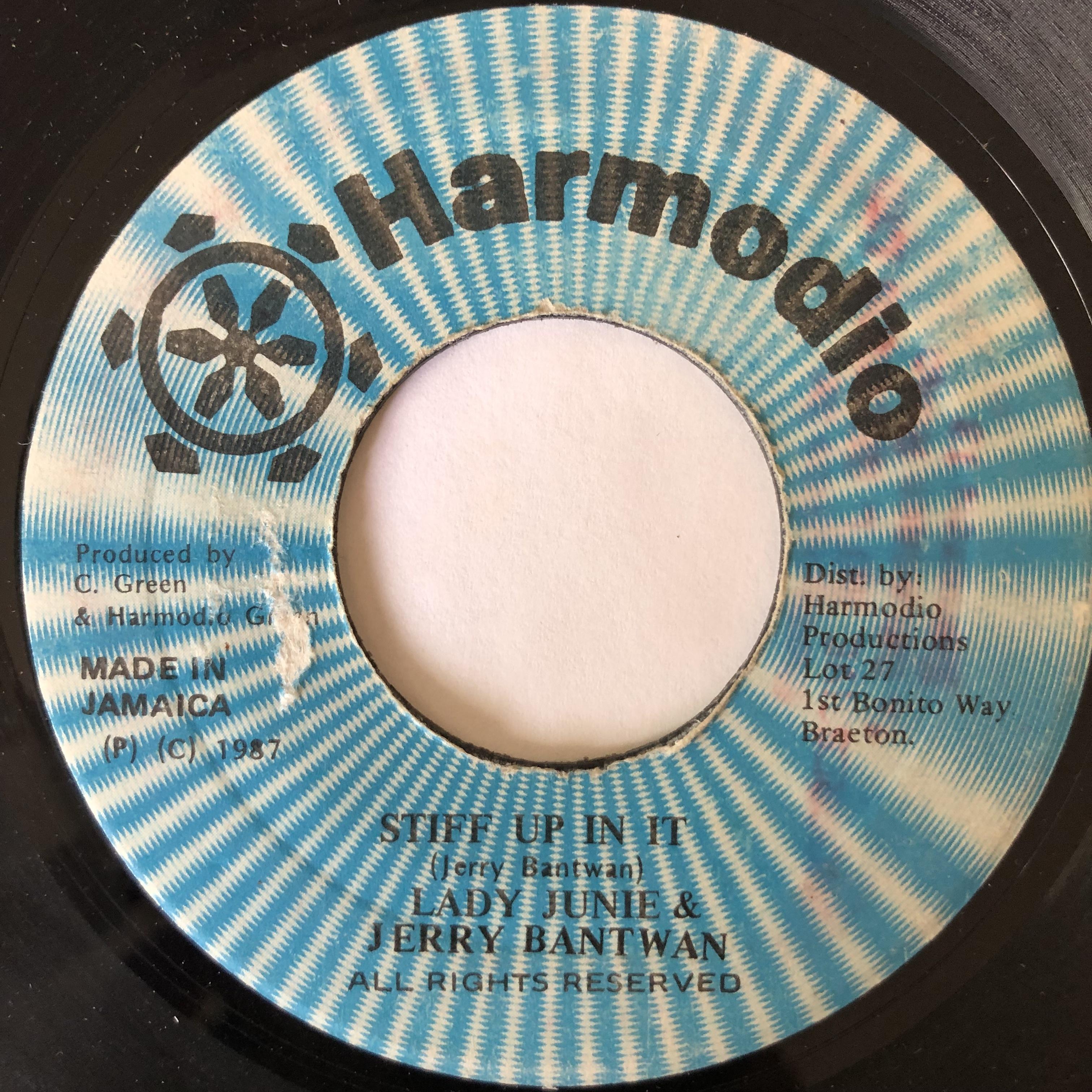 Lady Junie, Jerry Bantwan – Stiff Up In It【7-20122】