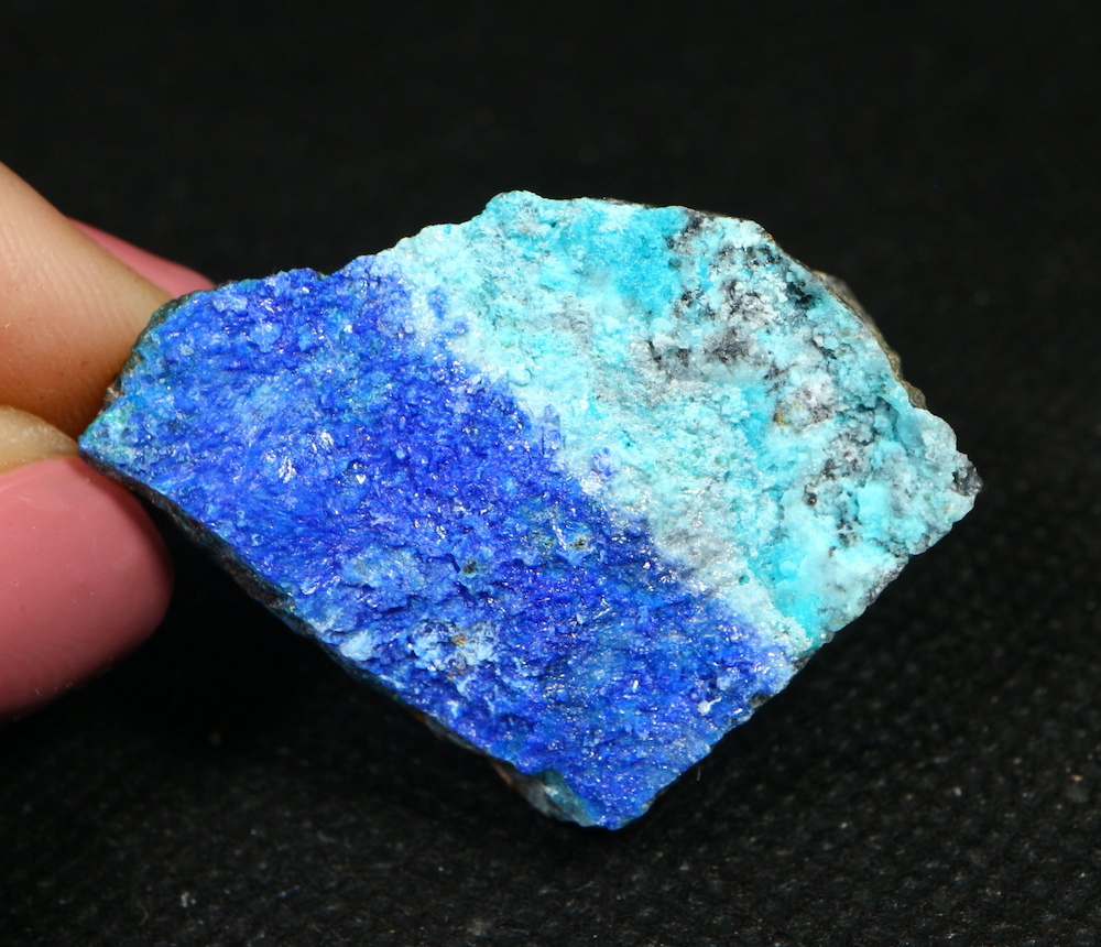 リナライト & カレドナイト 青鉛鉱 カレドニア石 21,6g LN012 鉱物 原石 天然石 パワーストーン