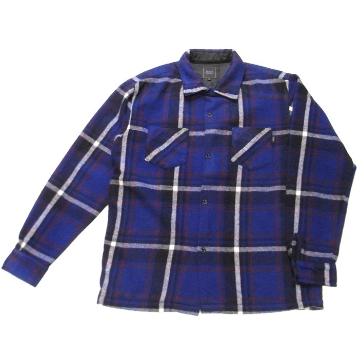 RATS(ラッツ) / BLUE CHECK WOOL SHIRT(18'RS-1201)(ウールシャツ)
