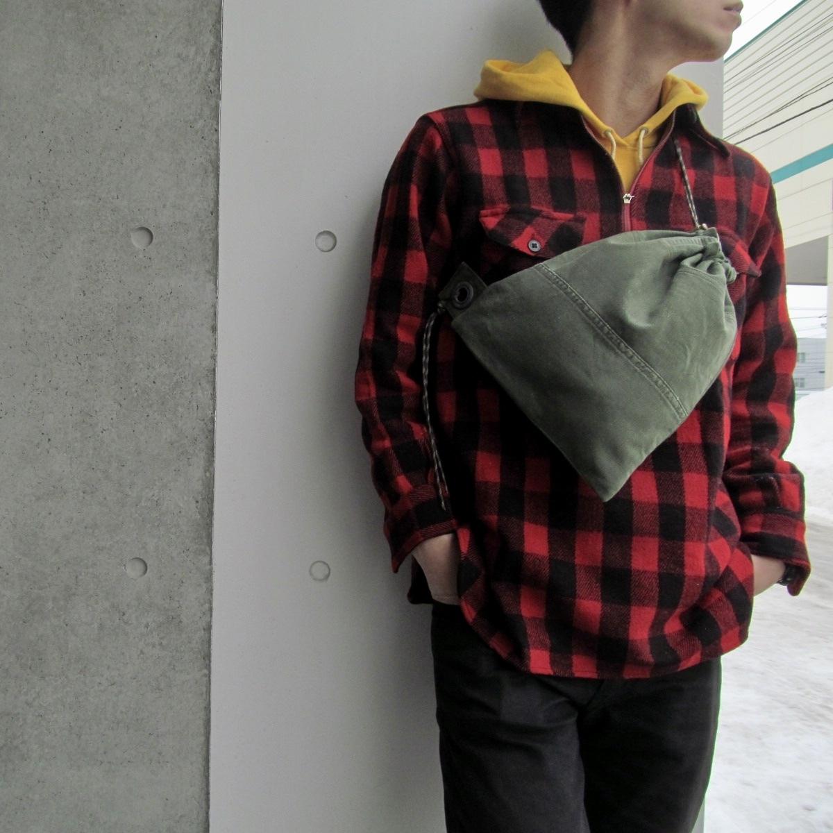 PATCH DRAWSTRING BAG (S)