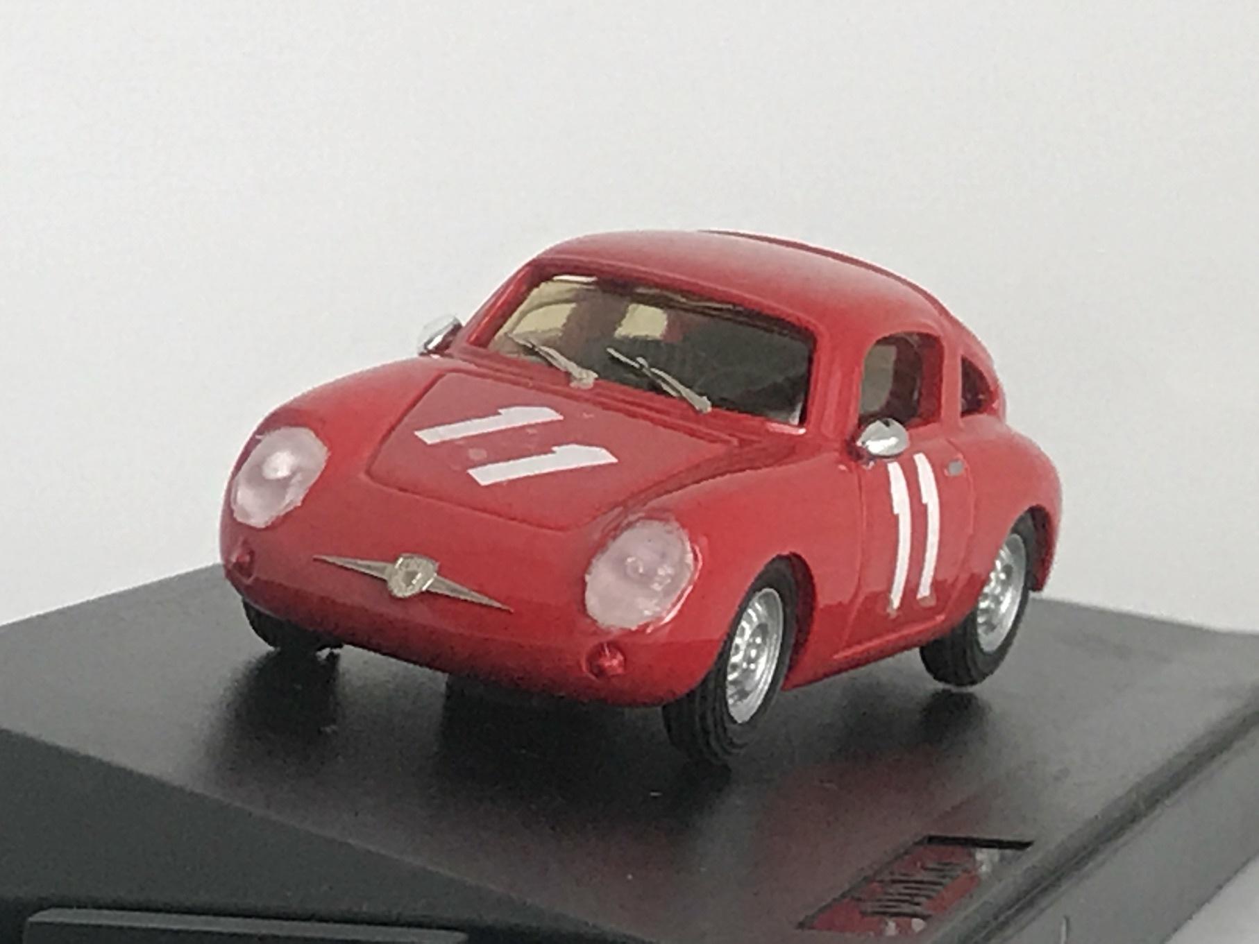 FIAT ABARTH 750 RECORDMONZA 1959 (1/43) 【PINKO】