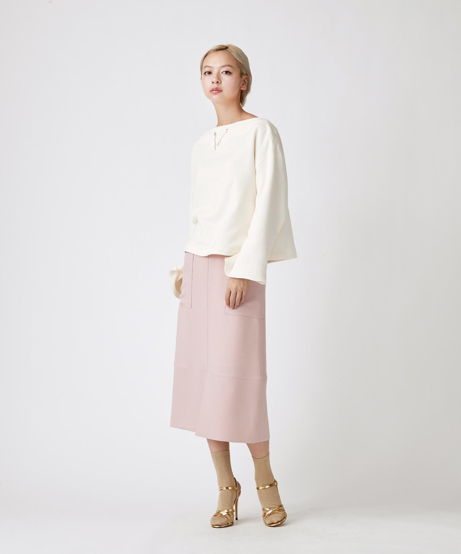 ポケットタイトスカート(ピンク)