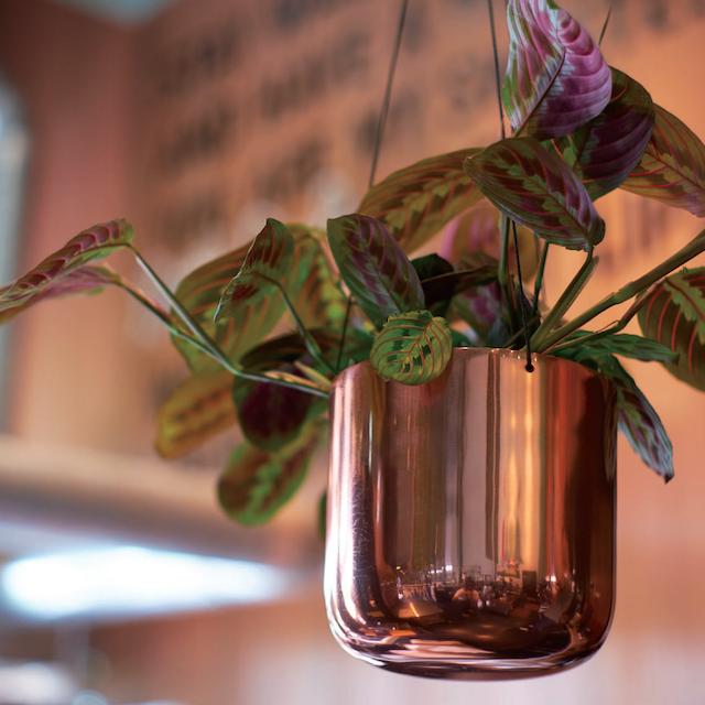 Raakel Hanging pot Copper φ17cm×H17cm ハンギングプランター・鉢カバー
