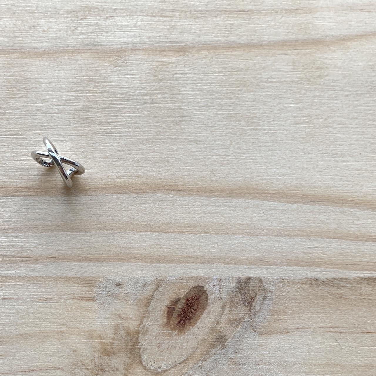 X Line Ear cuff クロスラインイヤーカフ #SP0212【STELLAPARK】