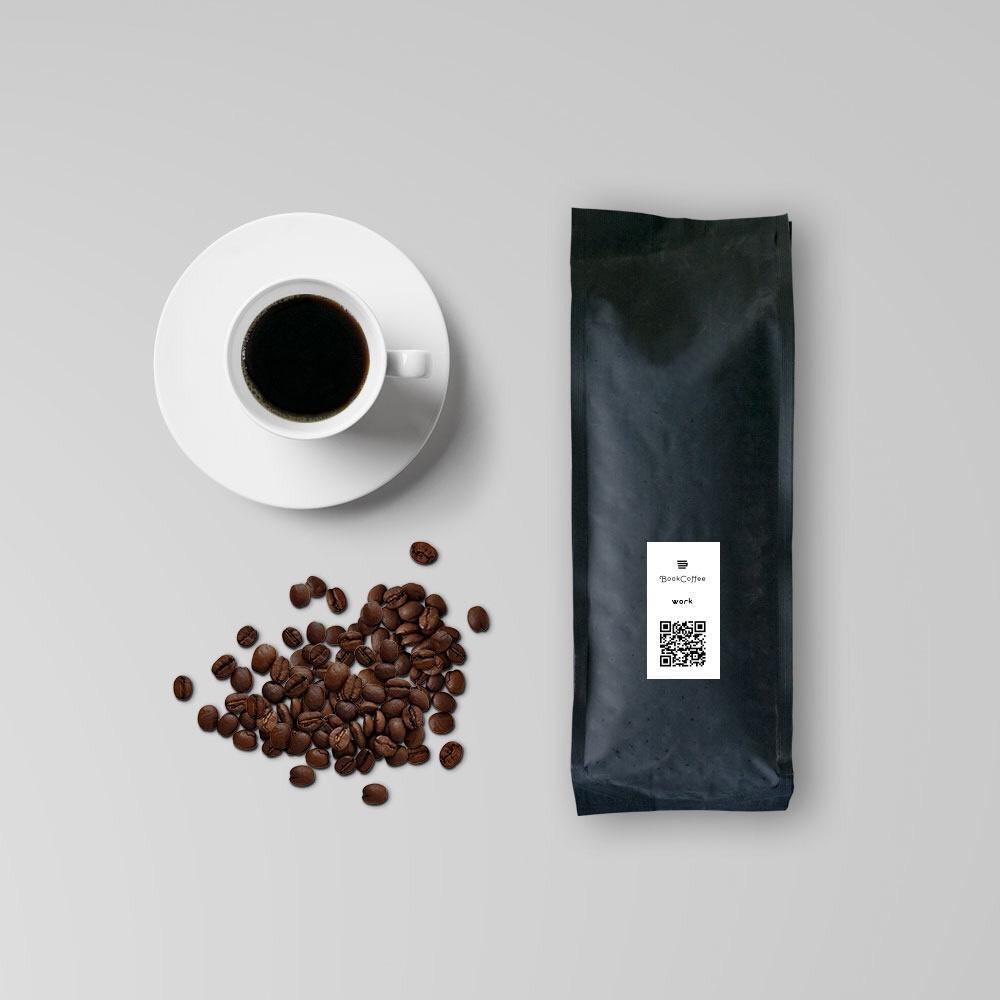 【送料込 ¥ 1,350】仕事タイムに!WORKブレンド|コーヒー豆・粉|200g - 画像1