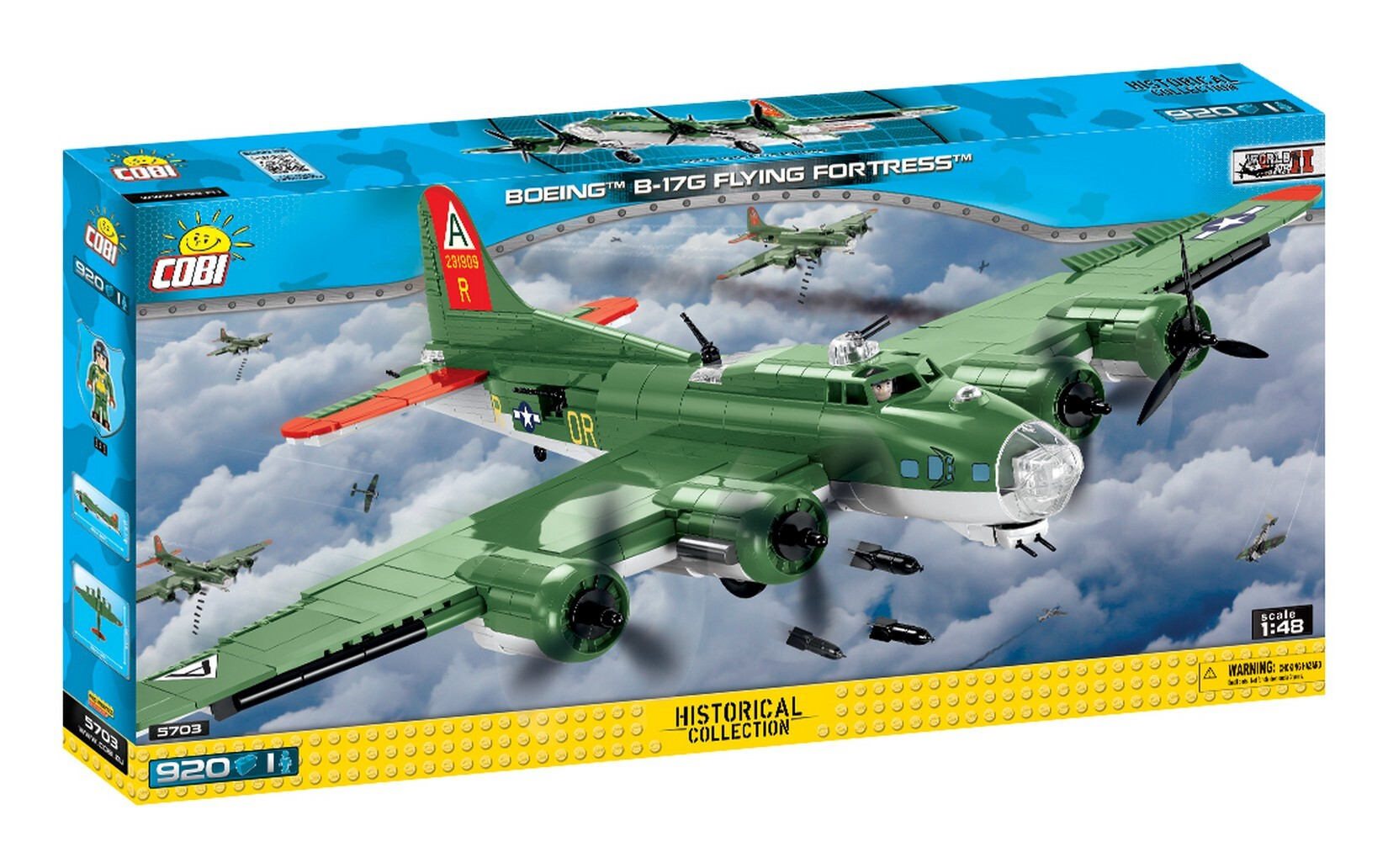 COBI #5703 B-17G フライングフォートレス