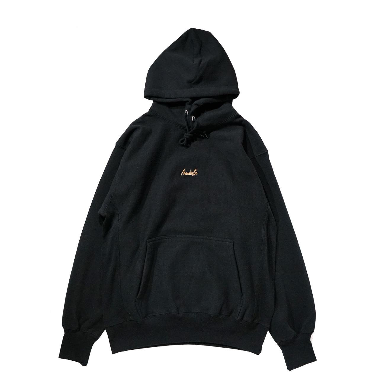 BASIC LOGO 019 pullover <Black×Beige> - 画像1