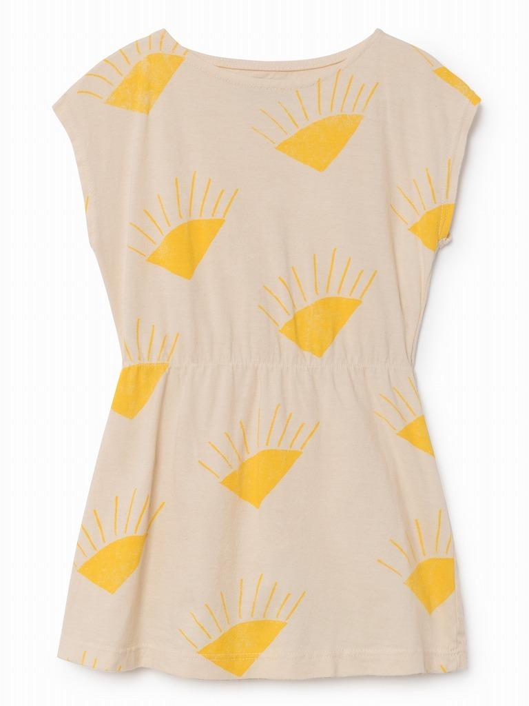 《BOBO CHOSES 2018SS》Sun shaped dress / 12M-3Y