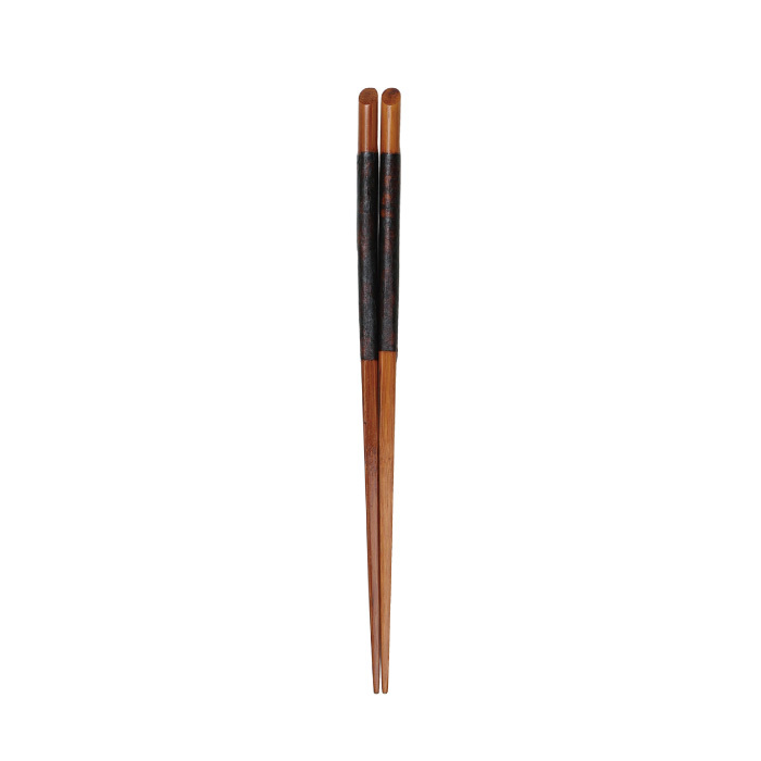 摺漆天削箸21.5cm 【45-251】