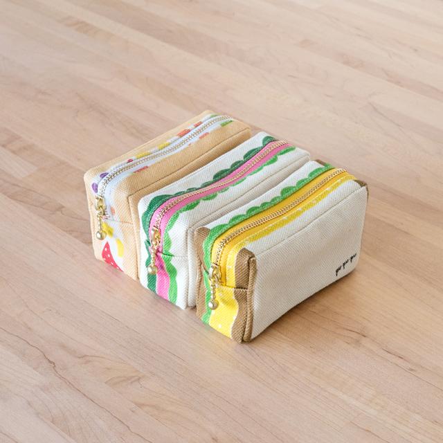 四角のサンドイッチポーチ 題1弾
