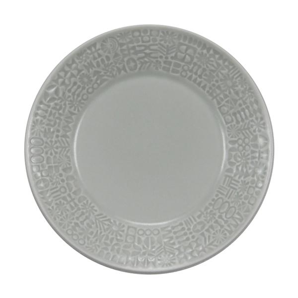 BIRDS' WORDS Patterned Plate morning mist