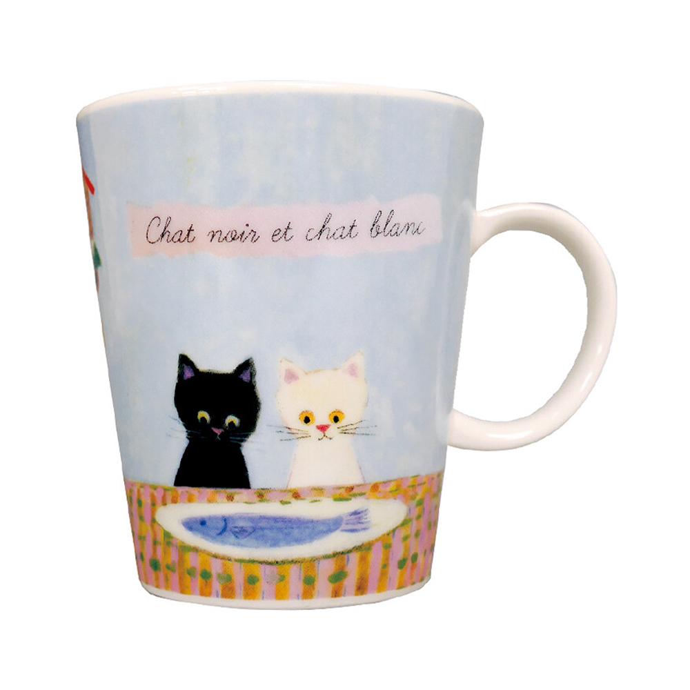 猫マグカップ(エクートミネットスマートマグ)ごちそう