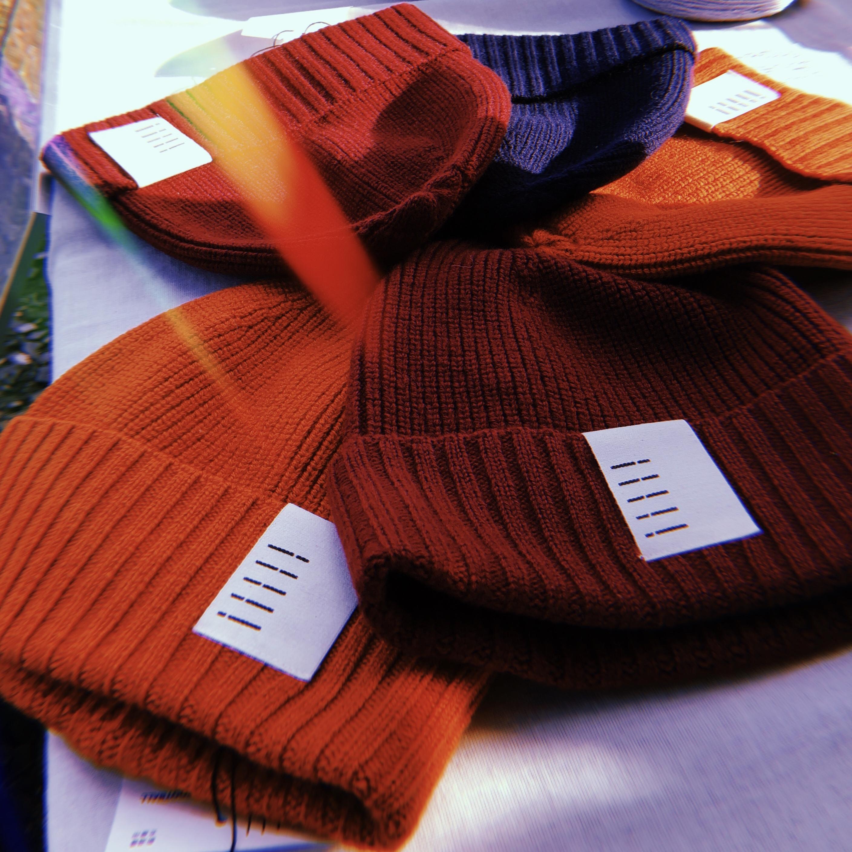 420012_Knit Cap(ネイビー)
