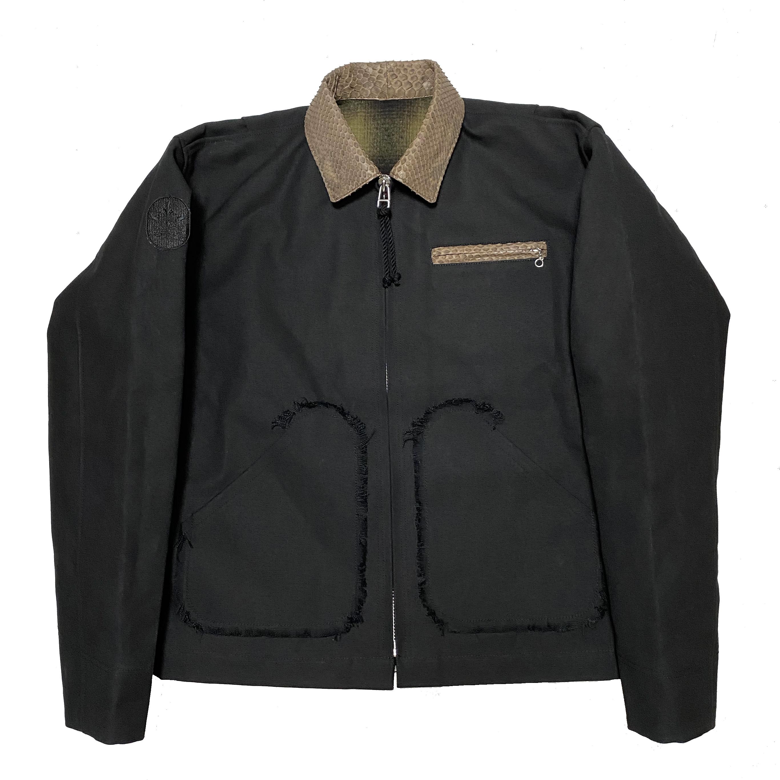 Petroit Work Jacket / Black - 画像1