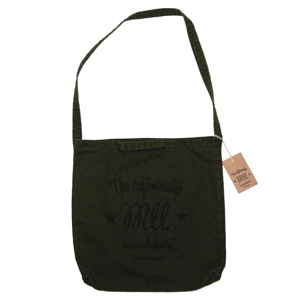 WILL CS LOGO 2WAY TOTE BAG (OLIVE)