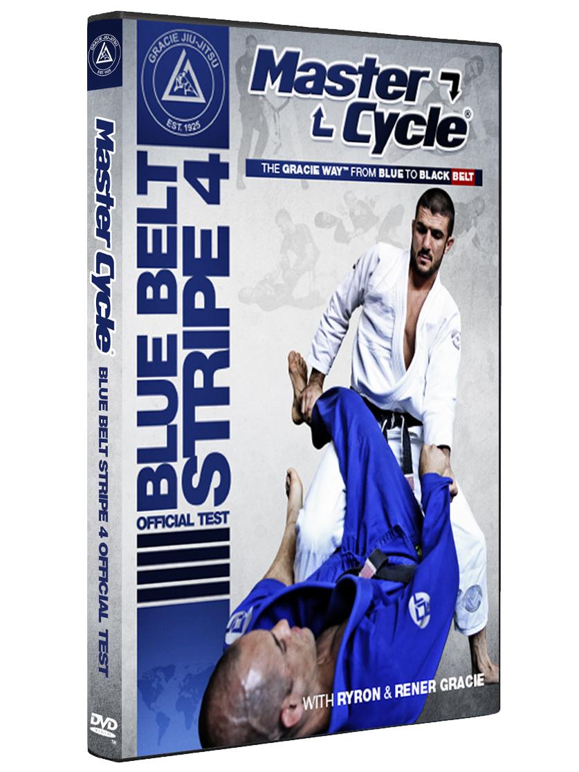 予約注文受付中 マスターサイクル:ブルーベルトストライプ4 オフィシャルテスト|グレイシー柔術DVD