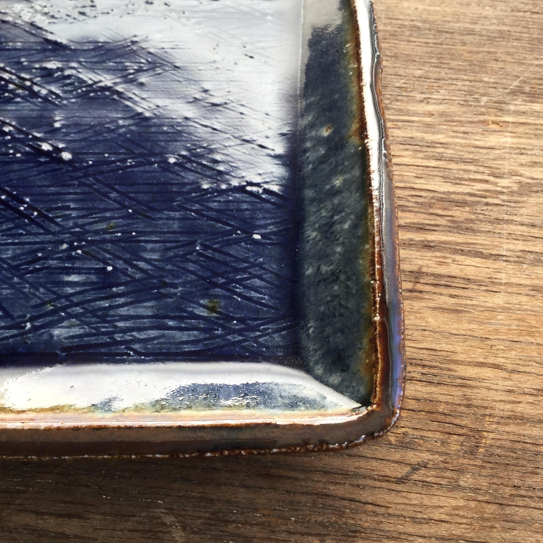 【蓮見かおり】 角皿 Φ14.5㎝×14.5cm 12 - 画像2