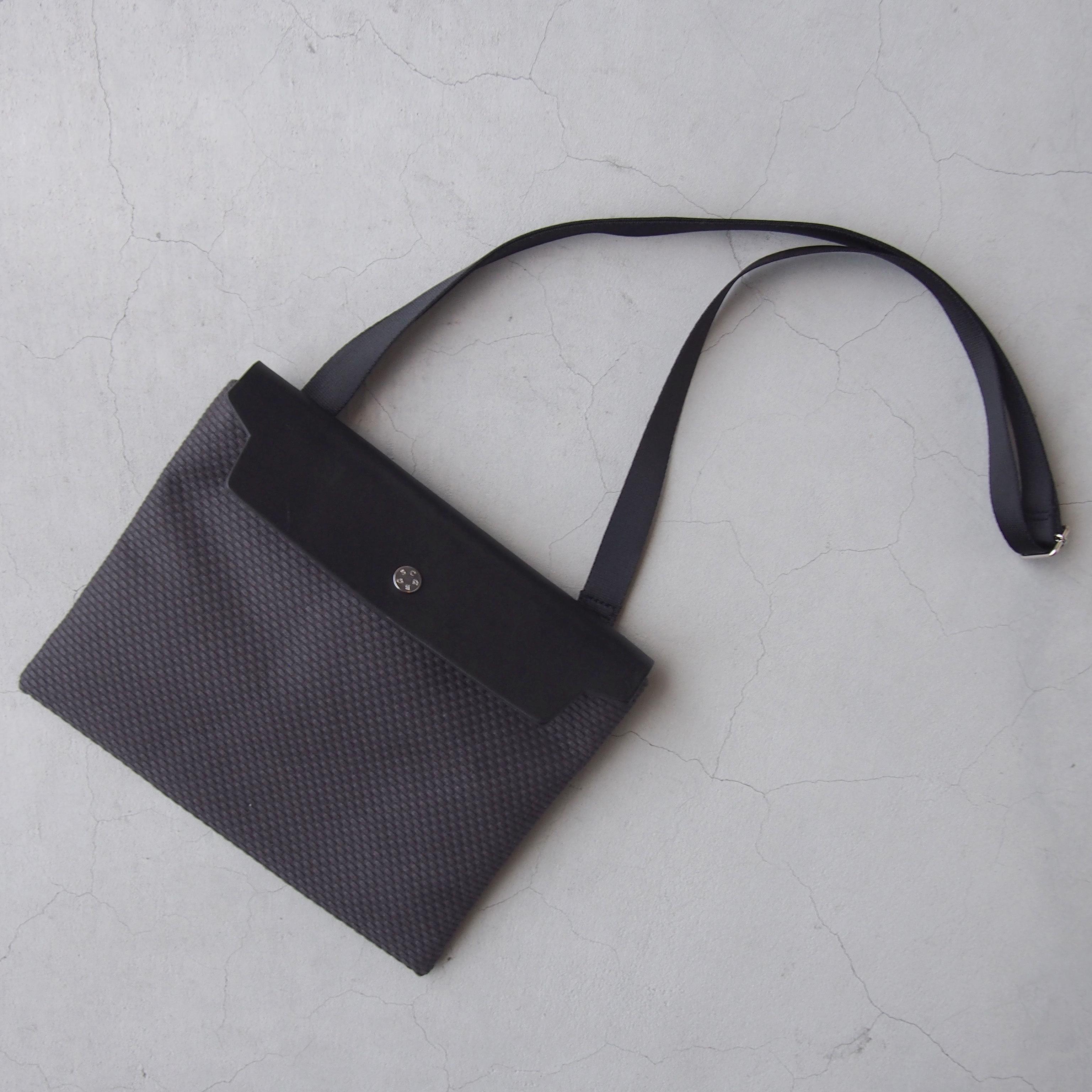CaBas N°60 Micro Shoulder medium Gray/Black