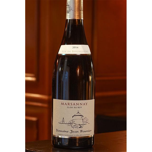 2015年 マルサネ ルージュ クロ デュ ロワ Jean Fournier 赤ワイン