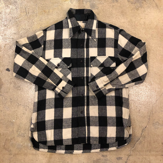 Sears Buffalo Check Flannel Shirts ¥6,400+tax
