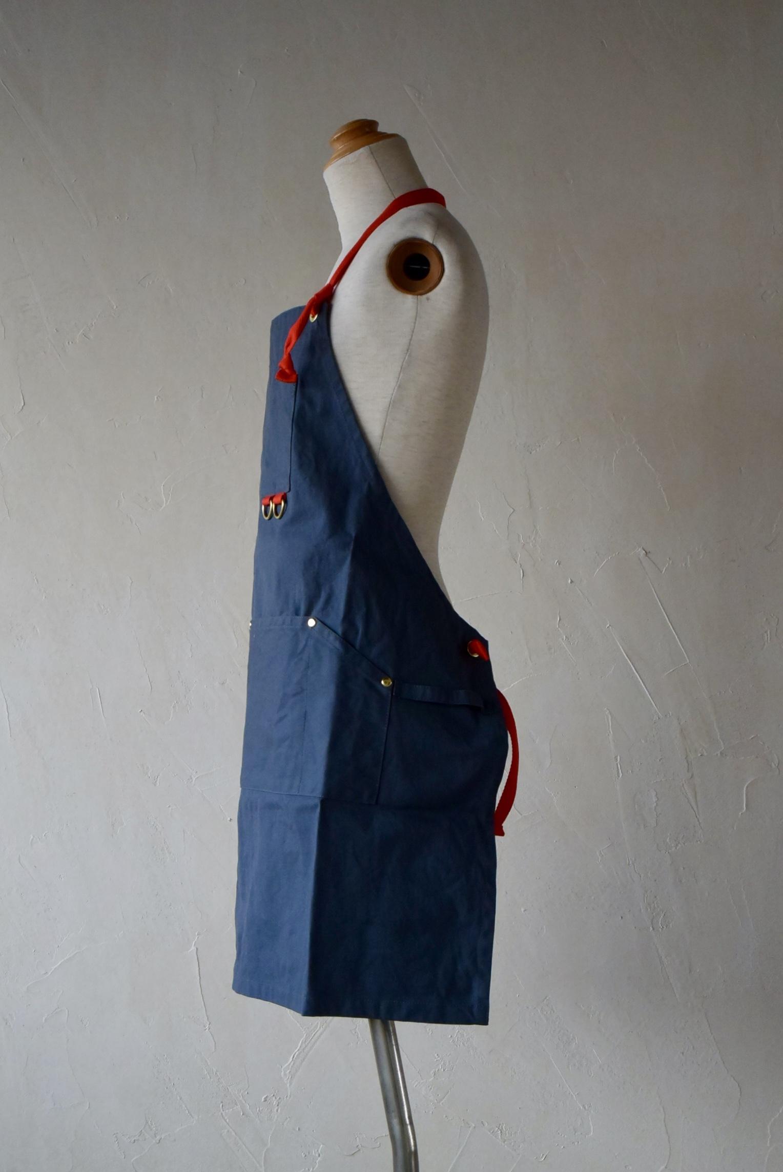 LAND & B.C.(ランド&ビーシー) Work apron スモーキーブルー