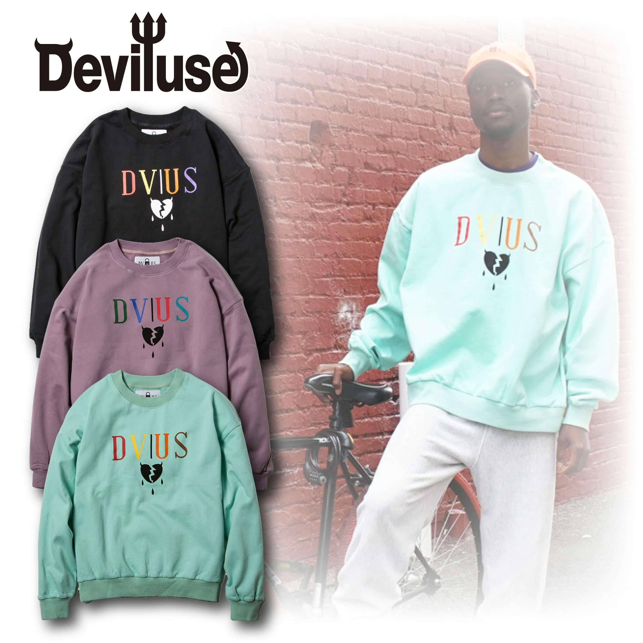 Deviluse(デビルユース) | Heartaches Crew Neck