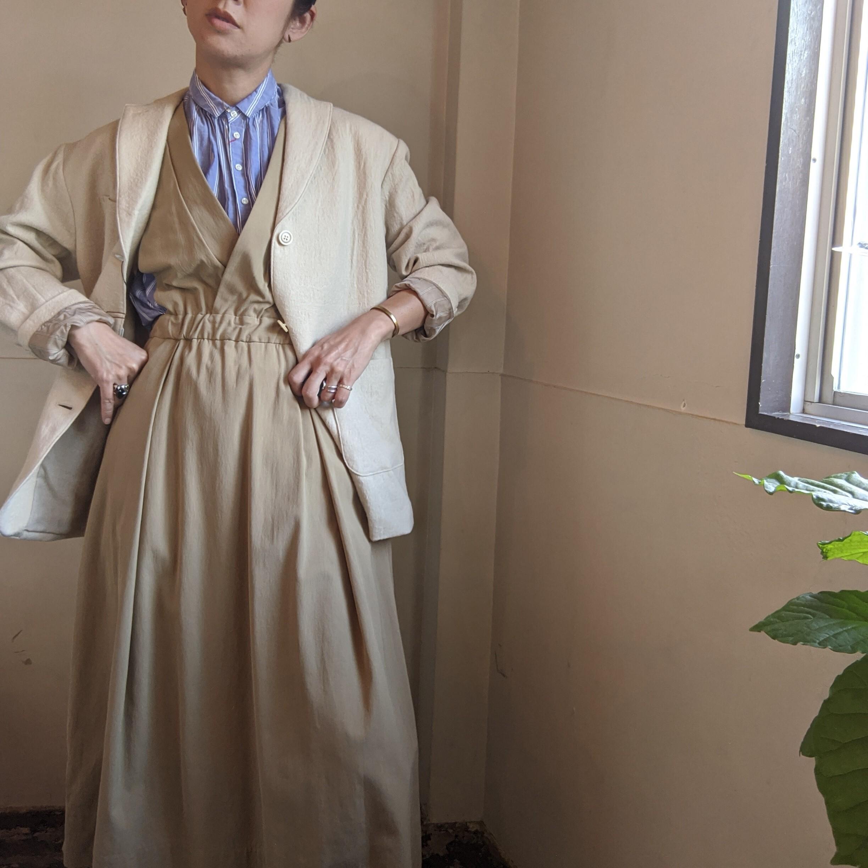 【 C'est pas Grave 】セパグラーヴ wash clothes jacket /ジャケットコットンウール