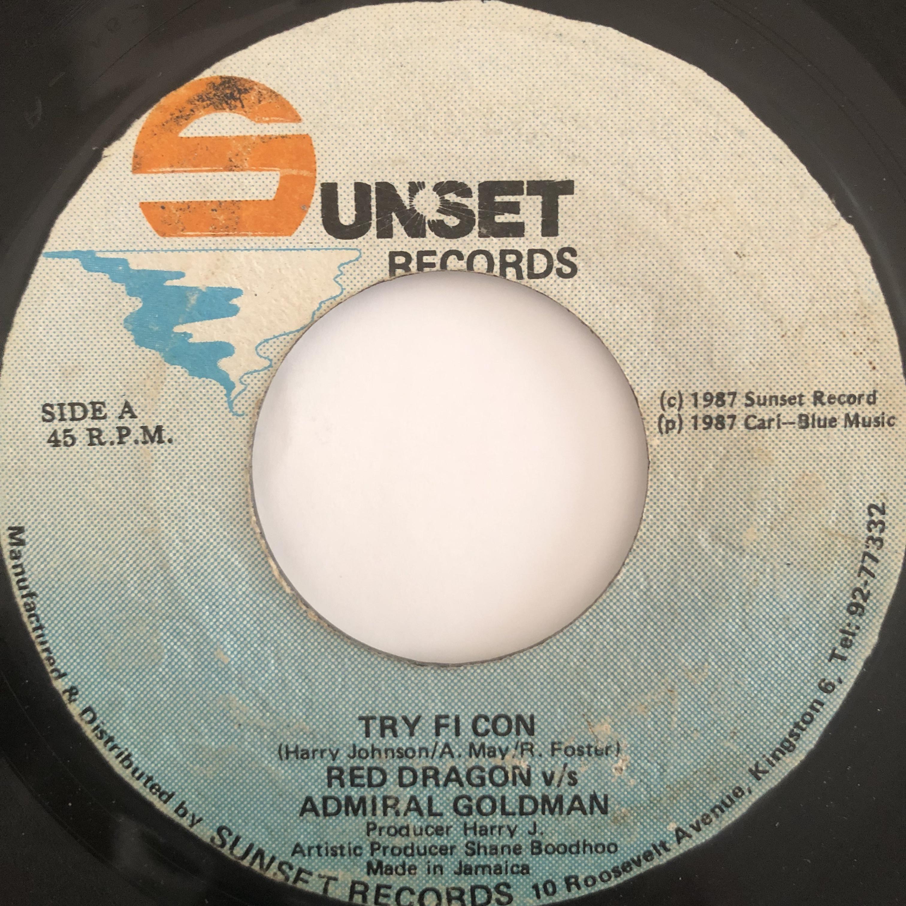 Admiral Goldman, Red Dragon – Try Fi Con【7-20166】