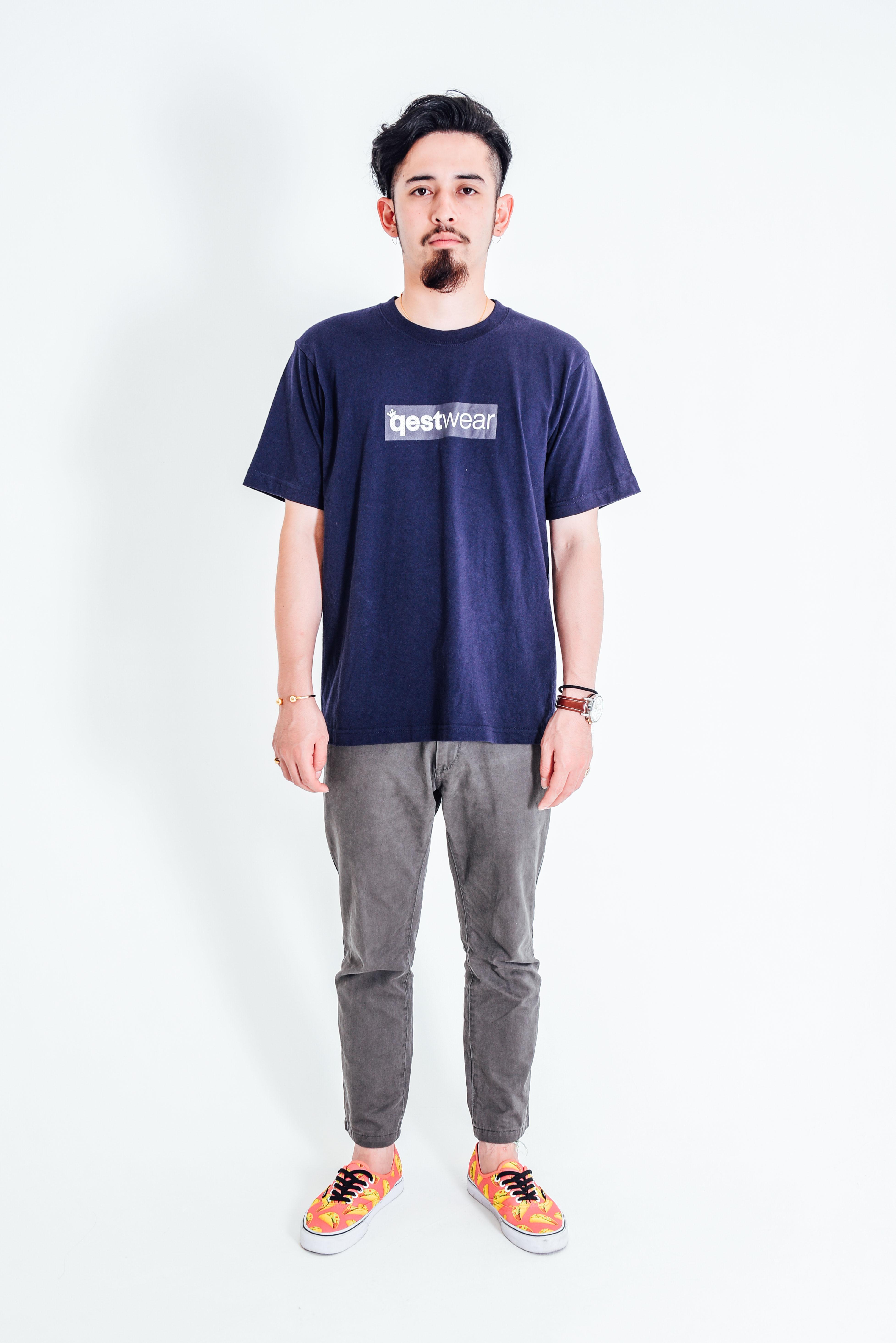 Box Logo Tshirt / Navy - 画像3