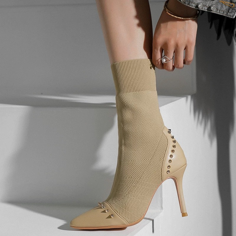 sole studs boots