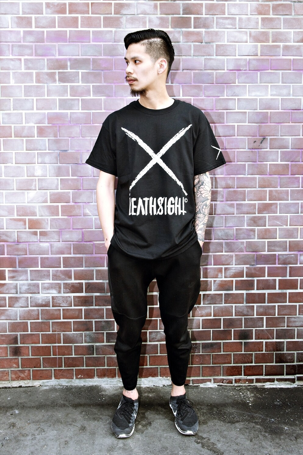 """deathsight"" Tees / BLACK - 画像3"