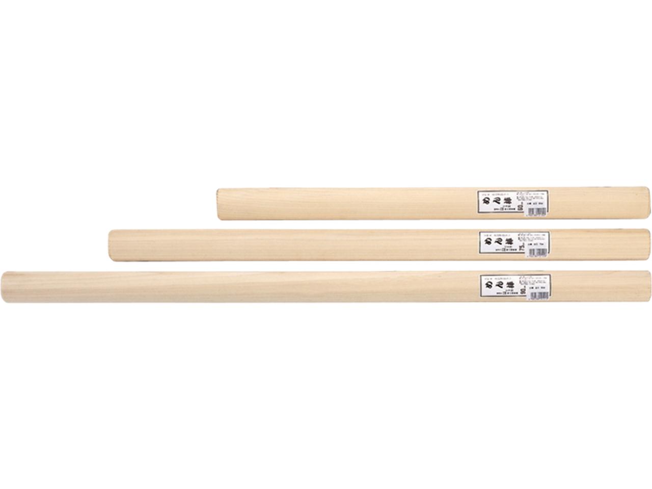木製 「ほおの木 めん棒 太口75cm」