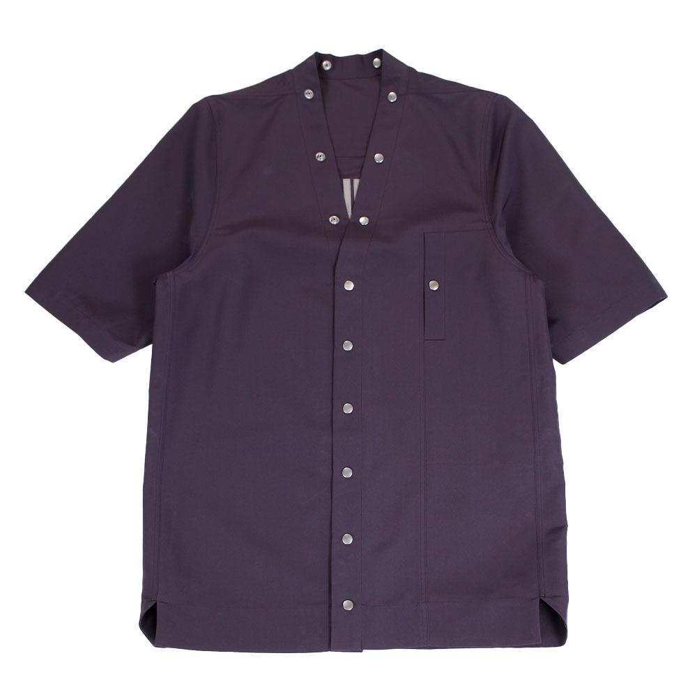 RICK OWENS Ovesize Short Sleeve Shirt