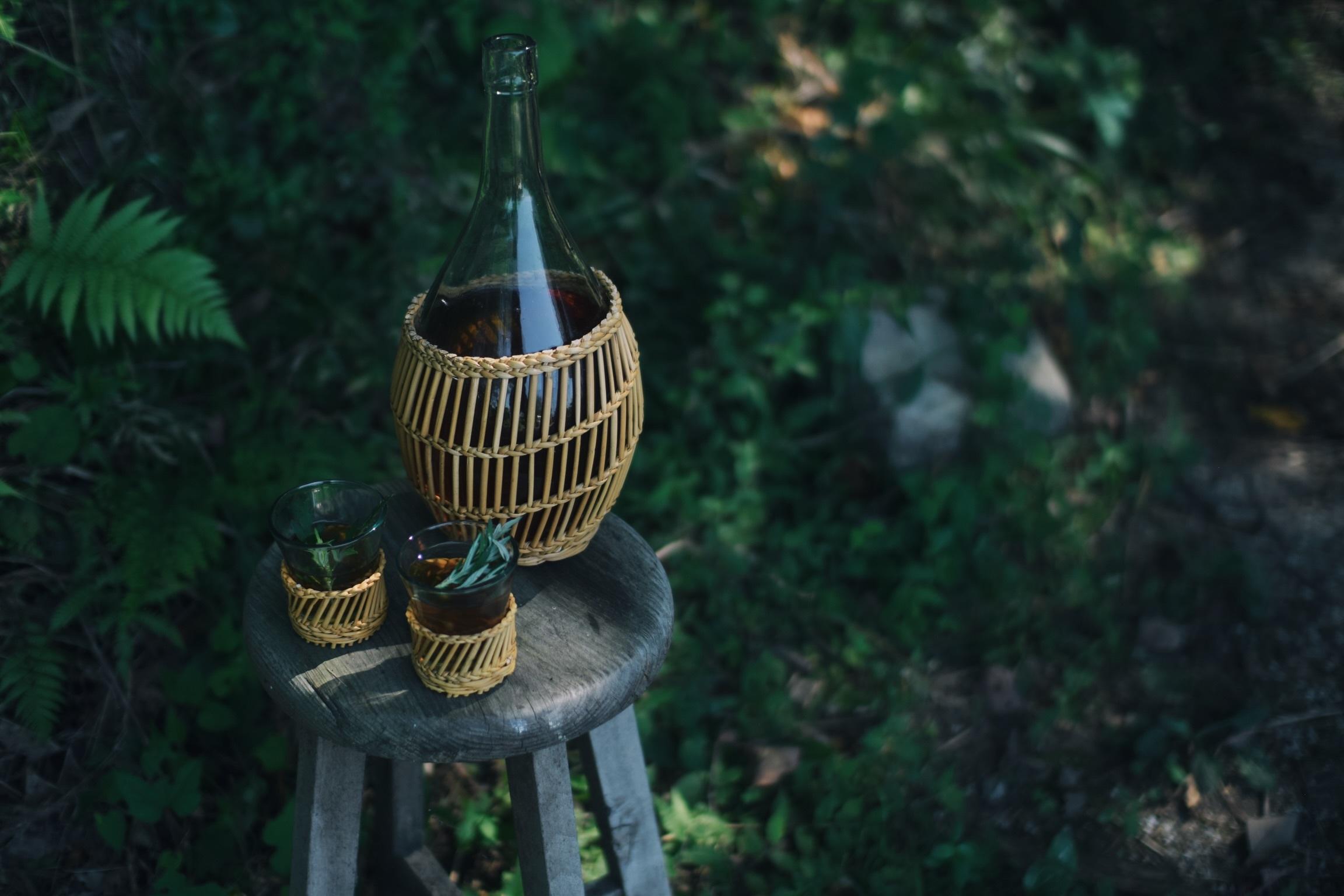 季節限定 せせらぎ涼む 水出しよもぎ茶